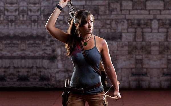 diy tomb raider lara croft costume