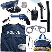 Amazon - DIY Police Officer Costume Set