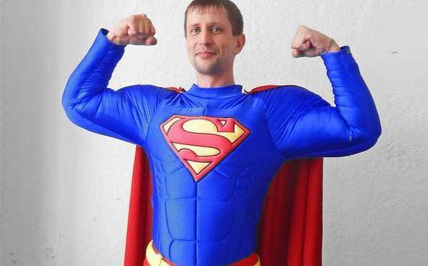DIY Superman Costume