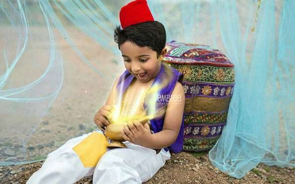 DIY Aladdin Costume