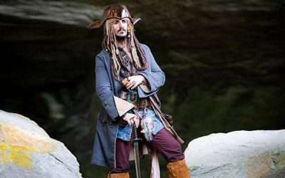DIY Jack Sparrow Pirate Costume