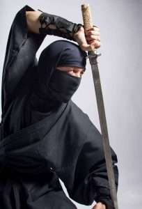Etsy - DIY Ninja Halloween Costume Idea