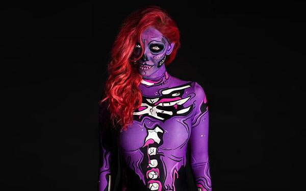 DIY Pop Art Zombie Costume