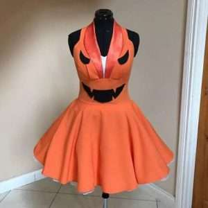 Etsy - DIY Pumpkin Halloween Costume Idea - Dress