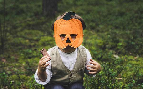 Etsy - DIY Pumpkin Halloween Costume Idea