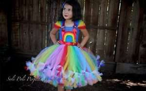 Etsy - DIY Rainbow Brite Halloween Costume Idea