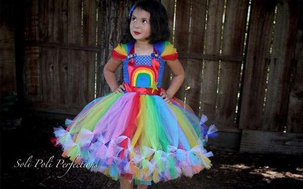 DIY Rainbow Brite Costume