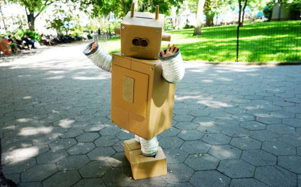 DIY Retro Robot Costume