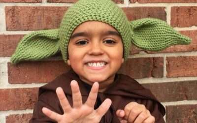 DIY Yoda Star Wars Costume