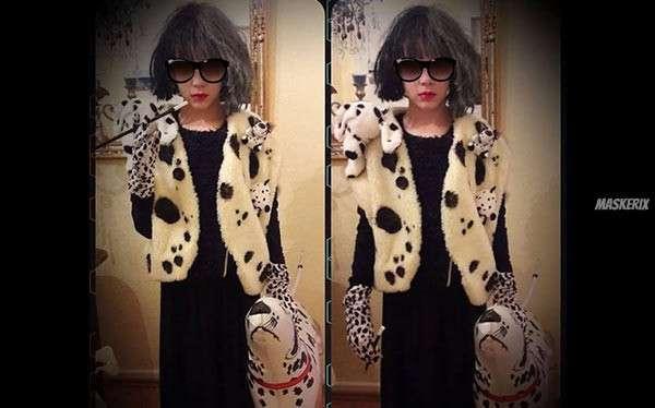 DIY 101 Dalmatians Cruella de Vil Costume