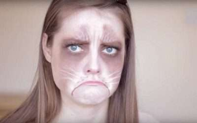 DIY Grumpy Cat Costume