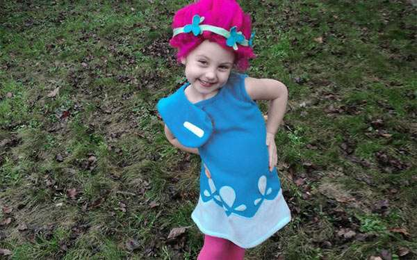 DIY Princess Poppy Costume