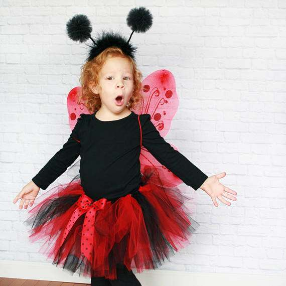 Etsy - DIY Ladybug Halloween Costume Idea