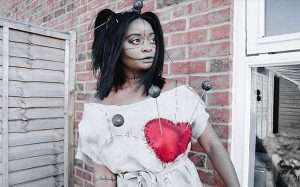 Youtube - DIY Voodoo Doll Halloween Costume Idea