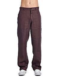 Amazon - DIY Halloween Costume Idea - Brown Linen Pants