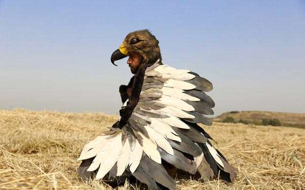 DIY Eagle Costume