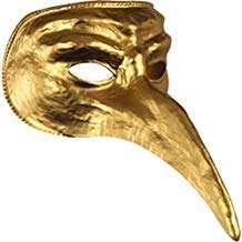 Amazon - DIY Halloween Costume Idea - Golden Bird Masks