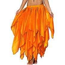 Amazon - DIY Halloween Costume Idea - Orange Belly Dance Skirts