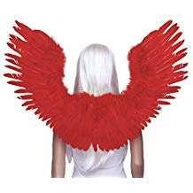 Amazon - DIY Halloween Costume Idea - Red Costume Wings