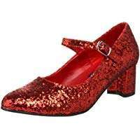 Amazon - DIY Halloween Costume Idea - Red Sequin Shoes