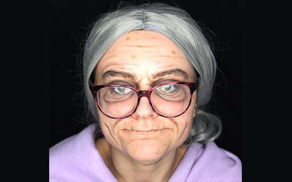 DIY Old Person Costume