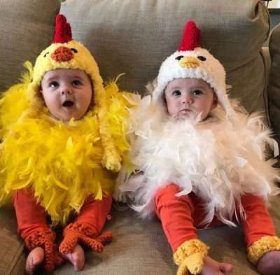 Etsy - DIY Baby Chicken Halloween Costume Idea