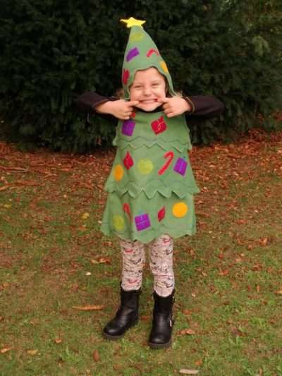Etsy - DIY Christmas Tree Costume Idea