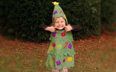 DIY Christmas Tree Costume