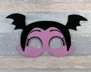 Etsy - DIY Halloween Costume Ideas - Vampirina Masks