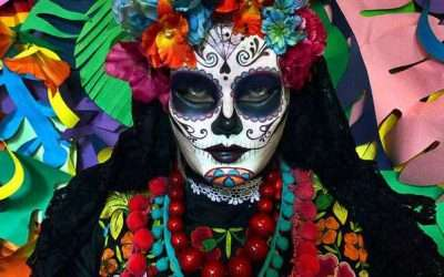 DIY La Calavera Catrina Day Of the Dead Costume