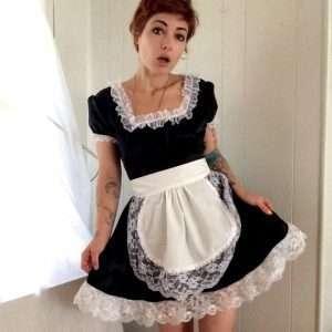 Etsy - DIY Maid Halloween Costume Idea
