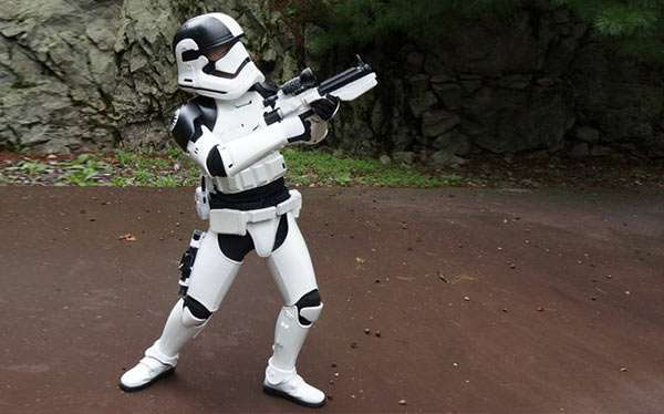 DIY Stormtrooper Star Wars Costume