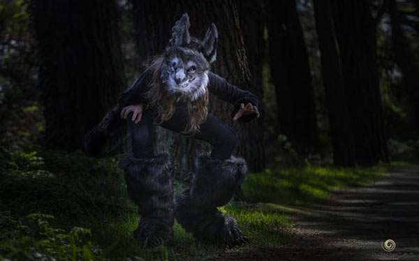 Etsy - DIY Werewolf Halloween Costume Idea
