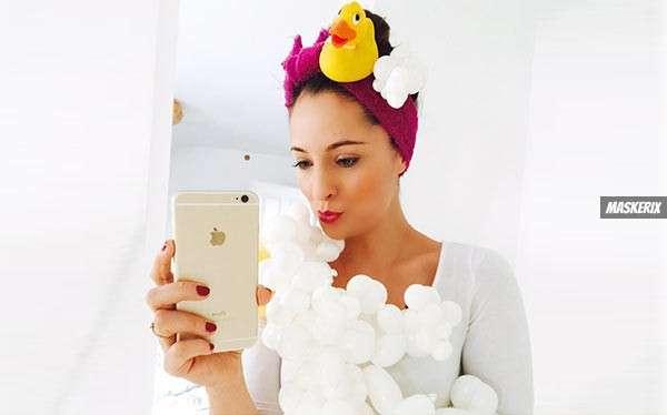 DIY Bubble Bath Costume