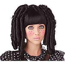 Amazon - DIY Halloween Costume Idea - Baby Doll Wigs