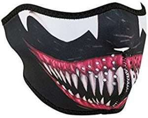 Amazon - DIY Halloween Costume Ideas - Venom Half Face Masks