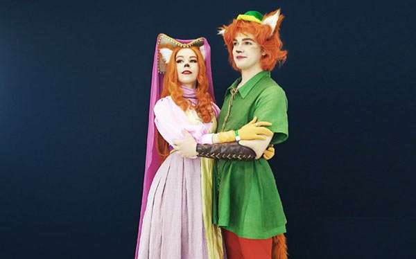 DIY Fox Robin Hood Costume