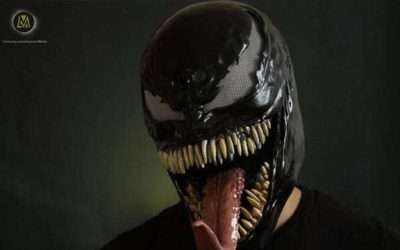 DIY Spiderman Venom Costume
