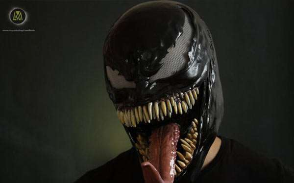 Etsy - DIY Spiderman Venom Halloween Costume Idea