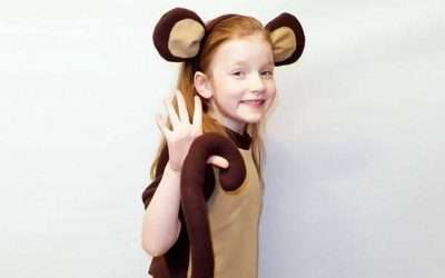 DIY Monkey Costume