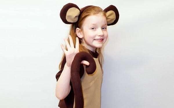 DIY Monkey Costume