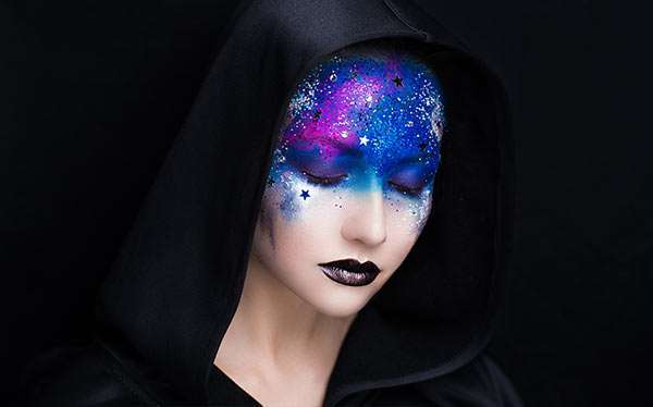 DIY Galaxy Costume