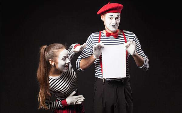 DIY Mime Costume
