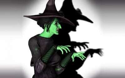 DIY Wizard of Oz Wicked Witch of the West Costume