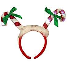 Amazon - DIY Candy Cane Costume - Headband