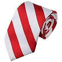 Amazon - DIY Halloween Costume Idea - Red Striped Ties