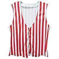 Amazon - DIY Halloween Costume Idea - Red Striped Vests