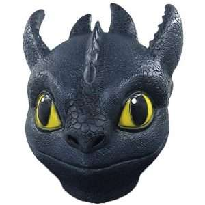 Amazon - DIY Toothless Costume Idea - Masks