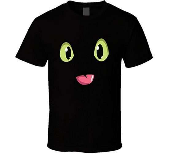 Amazon - DIY Toothless Costume Idea - Shirt