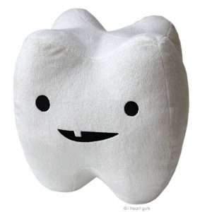 Amazon - DIY Halloween Costume Idea - Plush Tooth